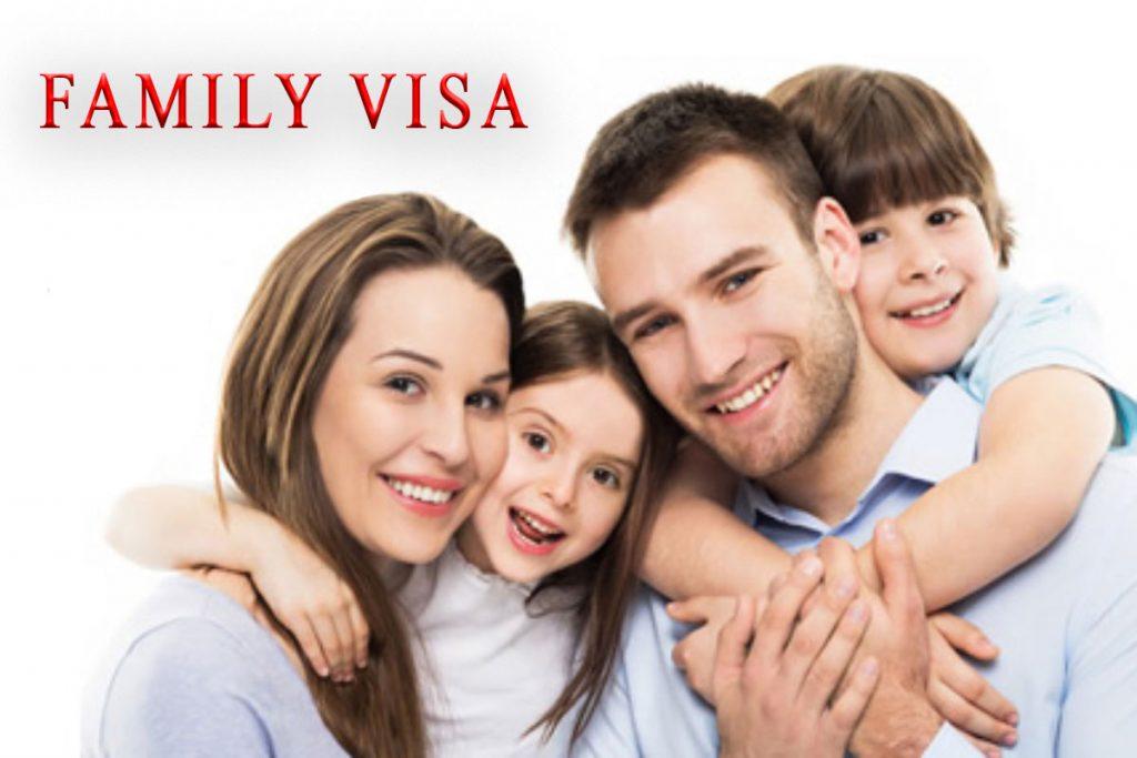 اخذ ویزای خانوداگی و شرایط آن