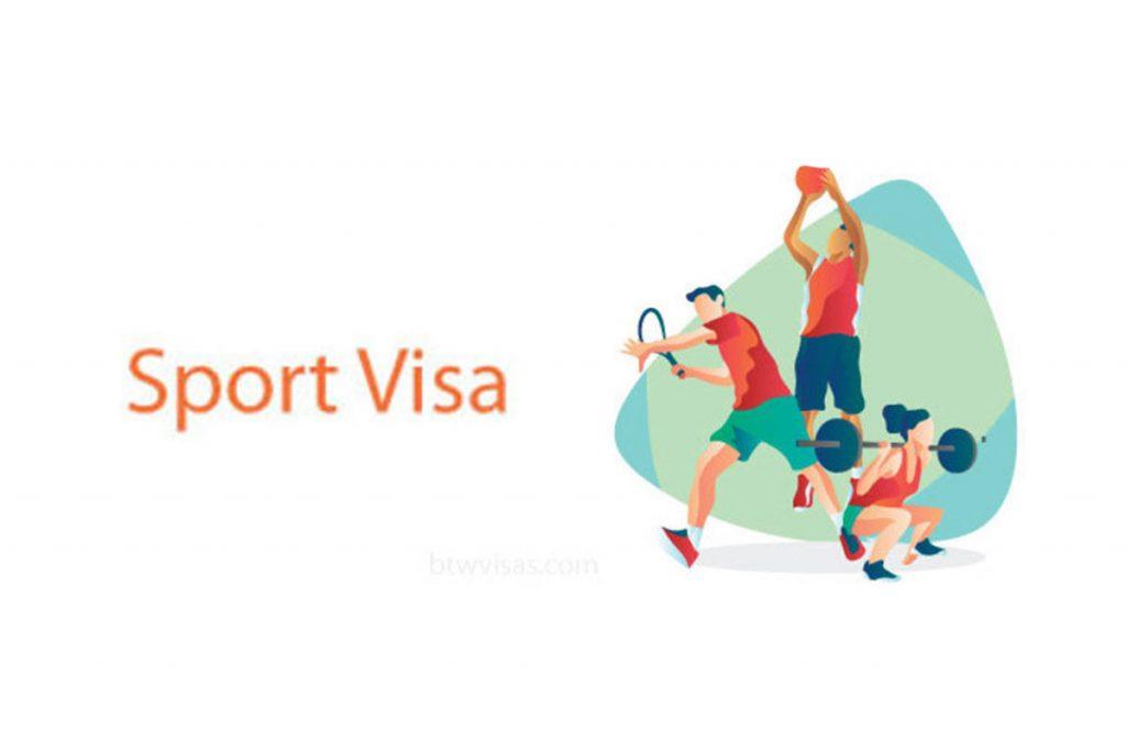 اخذ ویزای ورزشی