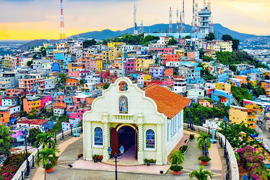 ecuador in pictures beautiful places to photograph santa ana hill guayaquil 1024x683 - ثبت شرکت در کشور اکوادور